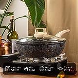 Carote 6.5-Quart Nonstick Saute Pan with Helper