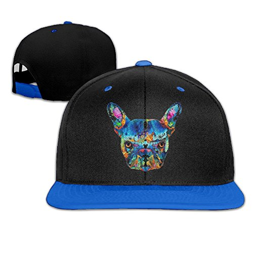 Unisex Cotton Twill Snapback Colorful Baseball cap Blue - 9