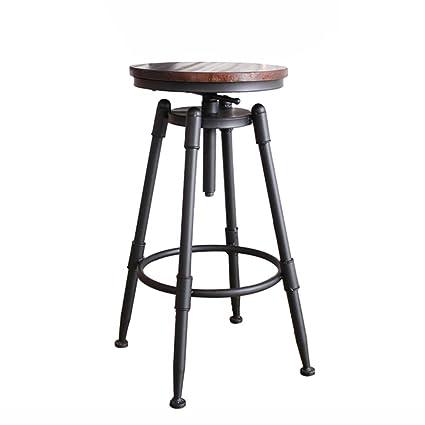 Stupendous Amazon Com Liqicai Bar Stool Iron Pipe Industrial Vintage Evergreenethics Interior Chair Design Evergreenethicsorg
