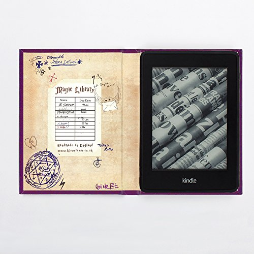 Harry Potter Book Of Spells Kindle Cover ~ Harry potter inspired kindle paperwhite book cover