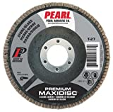 4 X 5/8 Sc Maxidisc™ Flap Discs for Stone/glass. Type 27 Shape 240 Grit