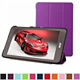 Acer Iconia One 8 B1-810 / Tab 8 A1-850 Slim Shell Case,Mama Mouth Ultra Slim Lightweight 3-folding PU Leather Standing Cover For 8