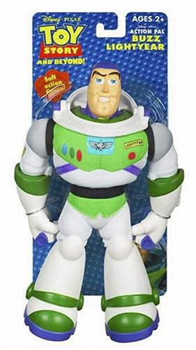 amazon com hasbro toy story action pal buzz lightyear toys games