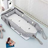 Baby Lounger Nest Bassinet for Bed, Portable Baby