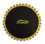 SkyBound 127'' Sunguard Premium Round Trampoline Mat w/ 72 V-Rings, Fits 12 ft. Frames and 5.5'' Springs Fits for Bounce Pro, Sports Power - TR-188COM-LT