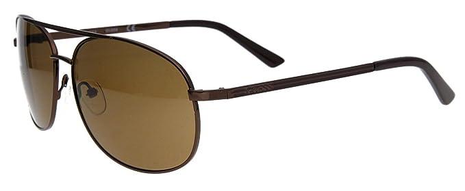 Guess Caballeros Gafas de sol Marrón GUF108-BRN-1: Amazon.es ...
