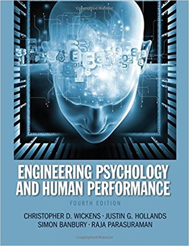 Book Engineering Psychology and Human Performance by Christopher D. Wickens (2012-10-07)