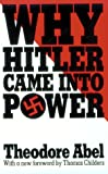 img - for Why Hitler Came into Power book / textbook / text book