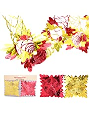 Christmas Concepts® Pack of 2 9ft Garland Festive Hanging Decorations (Red & Gold)