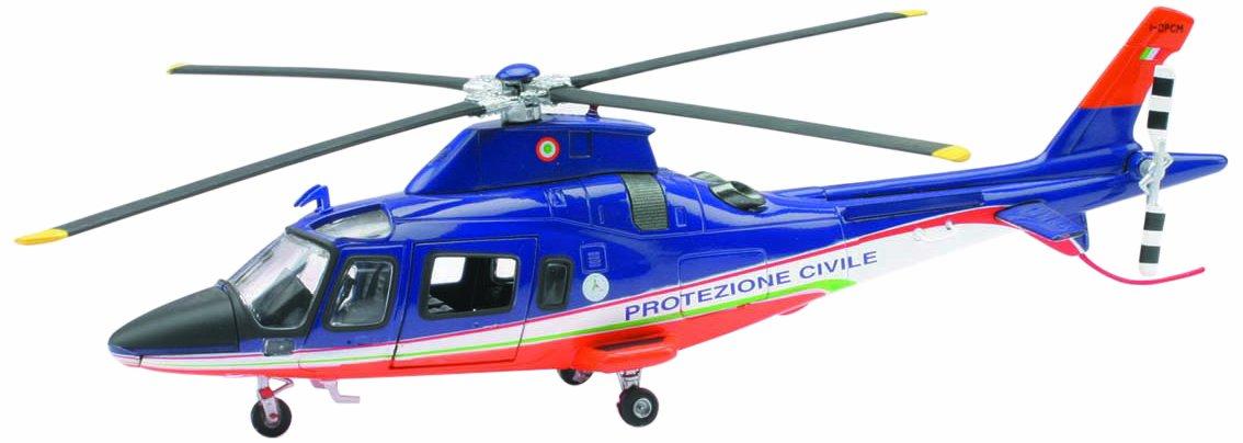 Newray 25543 Scala 1:43 Die Cast Sky Pilot Agustawestland Aw109 Protezione Civile