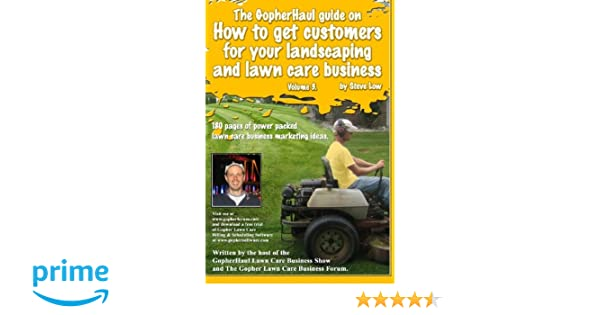 how to get customers for lawn care business
