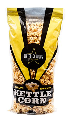 Salty & Sweet Kettle Corn Popcorn 14 oz Party Size Bag By Water Gardens Theatres