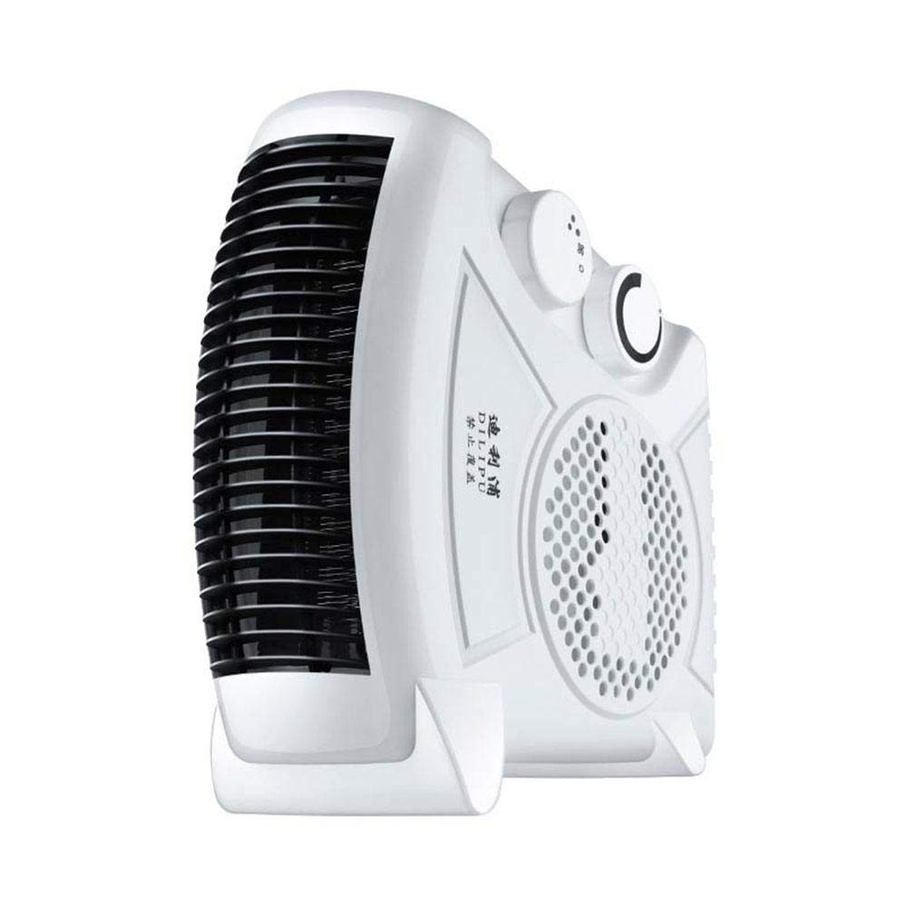 [Upgrade] KOBWA Electric Fan Heater W/ 2 Level Hot & Cool Air Setting, 750W/1450W Silent Flat Upright Warm Air Blower for Small Rooms W/ 2M/6.56FT Extra Long Cable by KOBWA (Image #8)