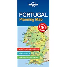 Lonely Planet Portugal Planning Map 1st Ed.
