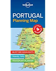 Lonely Planet Portugal Planning Map 1 1st Ed.