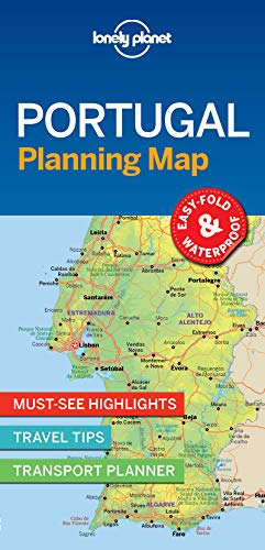 (Lonely Planet Portugal Planning Map)