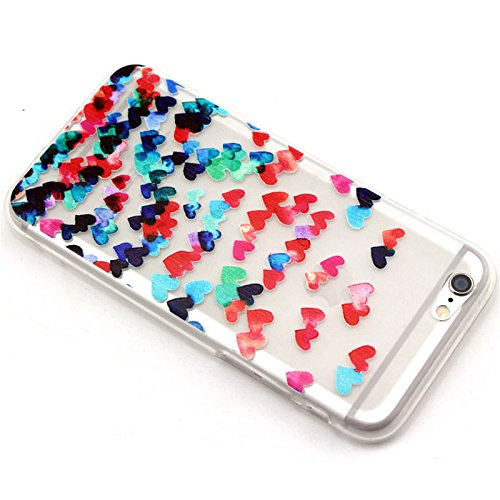 galleon iphone 6 case shensee peach colorful hearts