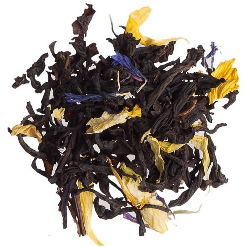 Blueberry Muffin Tea Loose Leaf Flavored Tea with Real Dried Blueberries and Yogurt Pieces - 5 Pounds by Buffalo Buck's Coffee