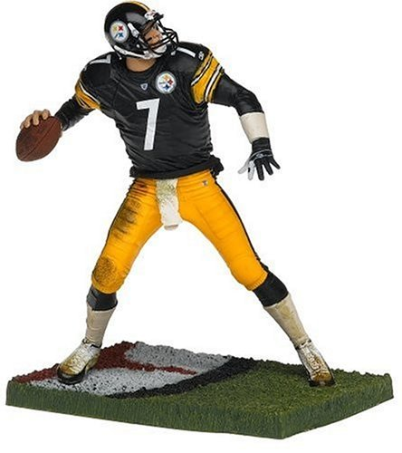 NFL Series 11 Figure: Ben Roethlisberger, Pittsburgh Steelers Black Jersey by T M P Intl Toys
