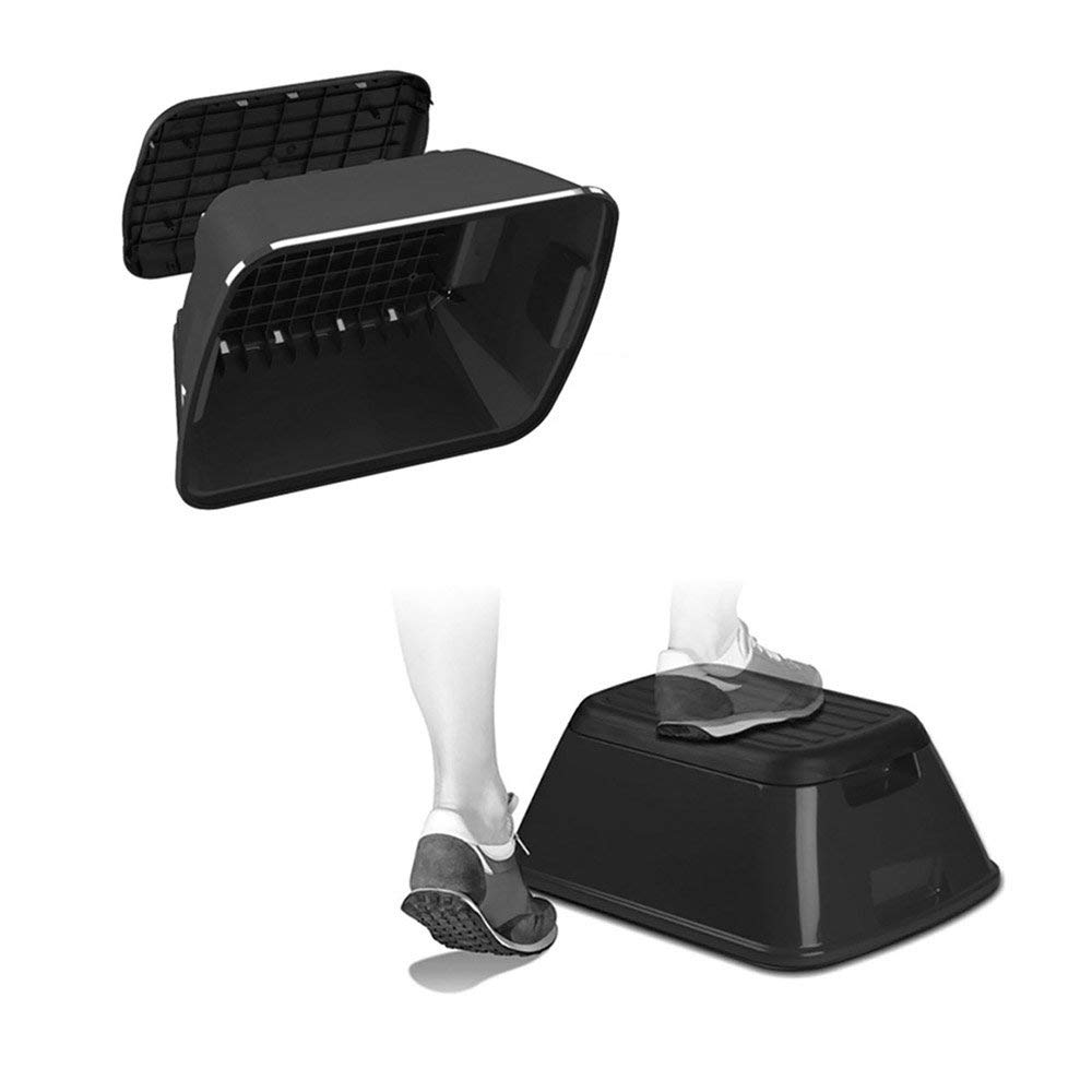 Portable Slip Resistant Anti-Tip Safe-T-Stool and Tote
