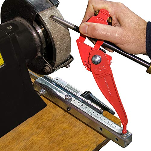 Tru-Grind Turning Tool Sharpener is an Easy, Repeatable, Precise Jig and base for Woodturning Tools...