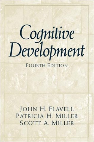Cognitive Development (4th Edition)