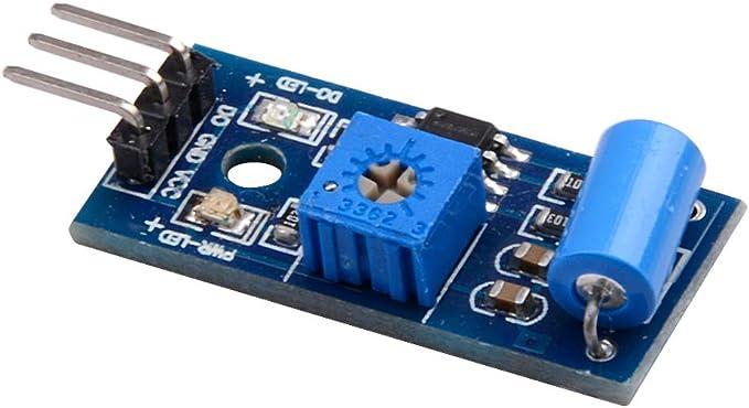 ARCELI 5Pcs SW-420 NC Type Vibration Sensor Module Vibration Switch Arduino Smart Car
