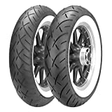Metzeler ME888 Marathon Ultra Tire - Front - MT90B16 - Wide Whitewall , Position: Front, Rim Size: 16, Tire Application: Cruiser, Tire Size: MT90-16, Tire Type: Street, Load Rating: 72, Speed Rating: H, Tire Construction: Bias 2407500