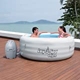 Bestway 77' x 24' Lay-Z-Spa Vegas Inflatable Portable 4-Person Hot Tub | 54115