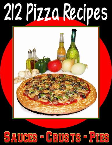 (212 Pizza Recipes + 40 Smoothie Recipes, 30 Pumpkin Recipes, 40 Healthy Snack Recipes, 30 Muffin Recipes & A Tribute to Chocolate on a DVD)
