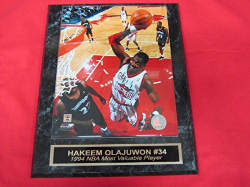 Hakeem Olajuwon Houston Rockets Collector Plaque w/8x10 Photo