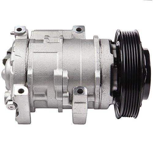 Compressor Conditioning Air Honda (SCITOO New A/C Compressor fits Acura MDX ZDX 3.7L/Honda Odyssey Pilot Ridgeline 3.5L)