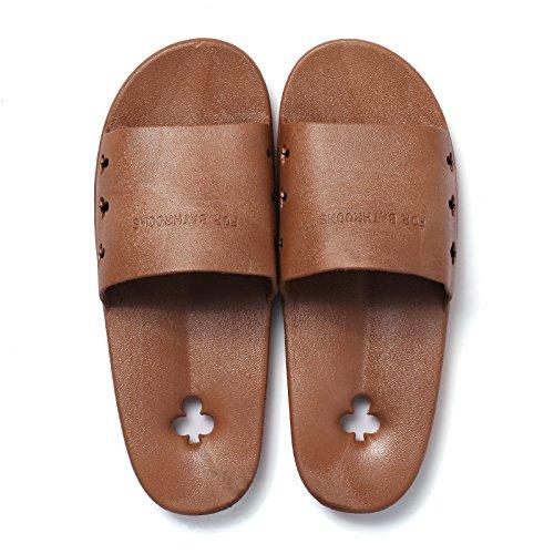una le piscina beach con pantofole maschio parola trascina home pantofole casa pantofole a estate trascina donne cool Brown Bagno pantofole DogHaccd coppie 6xTCxg