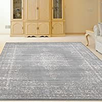 Radici USA 3563/0033/GREY Colosseo Area Rug, 22 x 77, Grey