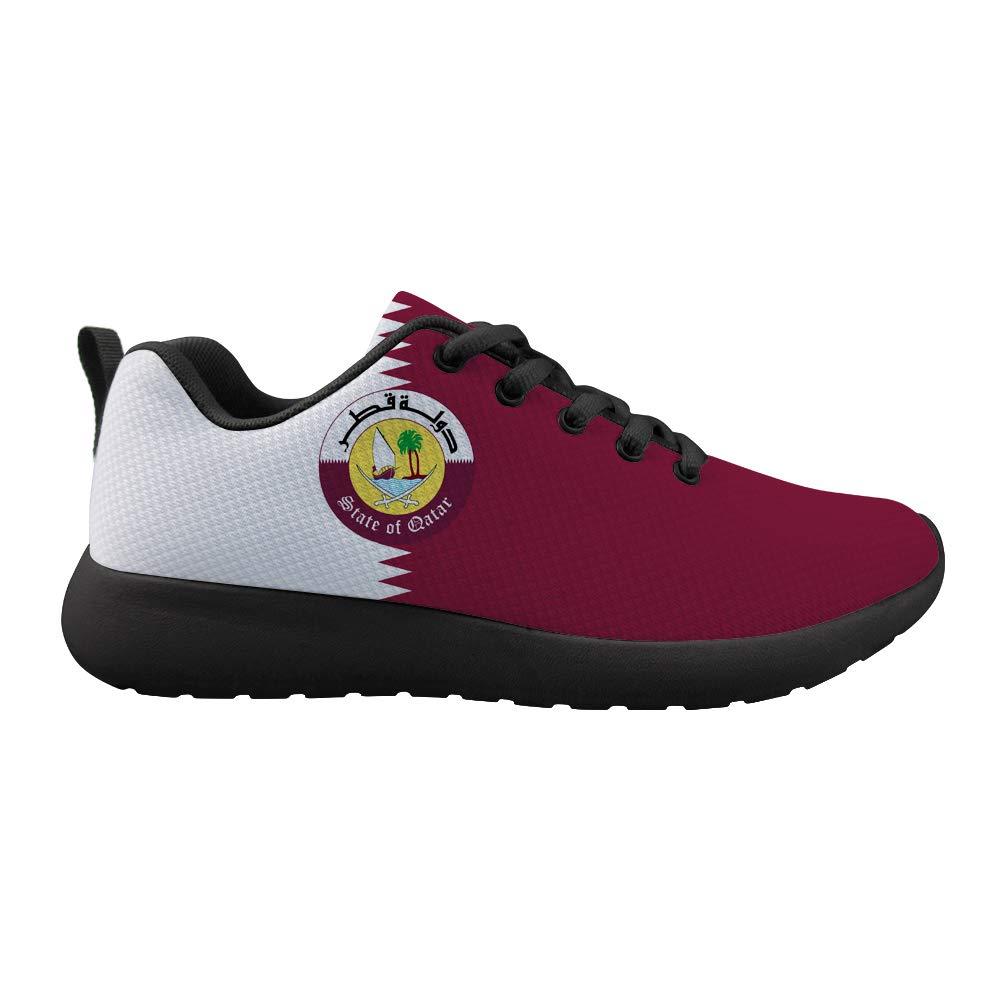 Cushioning Sneaker Trail Running Shoe Mens Womens Qatar Flag National Emblem