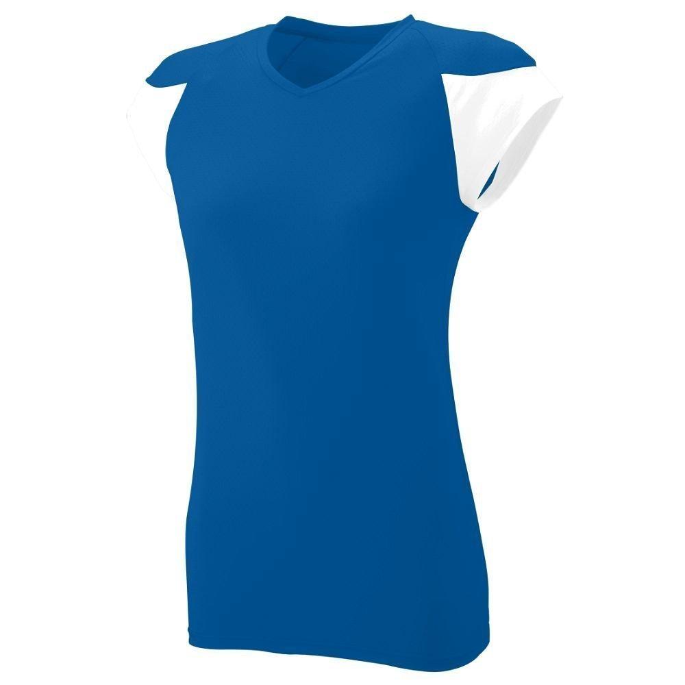 Augusta SportswearレディースMVPジャージー B00HJTLRN4 Small|ロイヤル/ホワイト ロイヤル/ホワイト Small