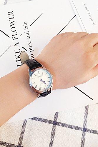 Generic watch girls_Korean_style stylish trendy,_minimalist_ large watch _tray_men's_jacket_with_ women girls watch _couple_ watch es_a_pair_of