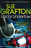 U Is For Undertow by Sue Grafton front cover