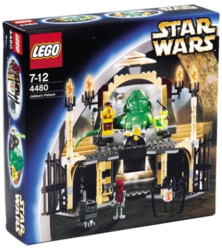 LEGO Star Wars 4480 - Jabbas Palast Palast Palast 36feff