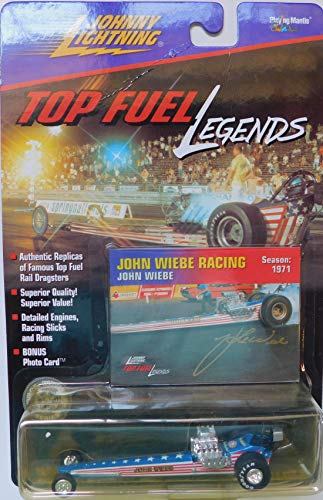 (Top Fuel Dragster John Wiebe Racing NHRA 1975 Top Fuel Legends Series by Johnny Lightning)