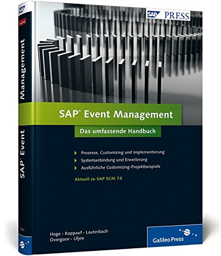 SAP Event Management: Das umfassende Handbuch (SAP PRESS)