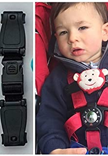 Buggy Buddy CAR SEAT Chest Clip, Anti-Escape System Safety Strap to ...