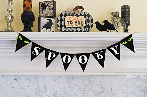 Cardstock Spooky Banner | Halloween Decoration]()