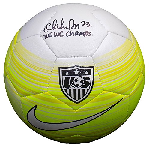 Christen Press USA Soccer Signed Authentic Yellow Soccer ...