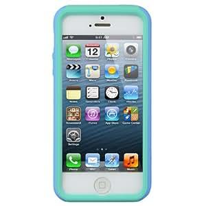 Melkco Kubalt - Carcasa para iPhone 5 y 5S, color azul y verde
