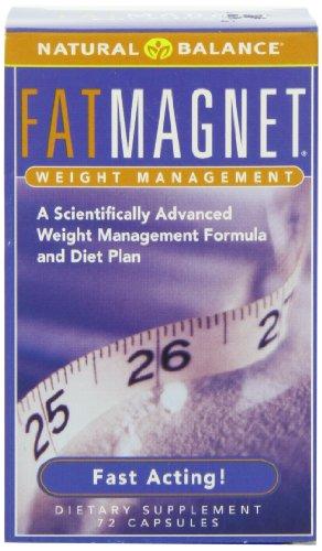 Natural Balance Fat Magnet Capsules, 72 comte