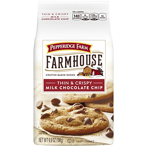 Pepperidge Farm Farmhouse Thin amp Crispy Cookies Milk Chocolate Chip 69 Ounce