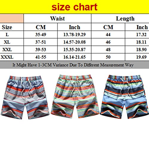 Zhuhaitf Excelente Mens Casual Clothing Summer Beach Fashion Multi colors Shorts 518 Red