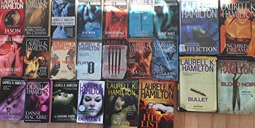 Anita Blake Vampire Hunter Collection by Laurell K Hamilton 24 Book Set (Skin And Bones Set)
