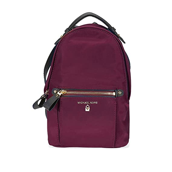 3597d486aba1 Michael Kors Nylon Backpack- Plum: Amazon.co.uk: Clothing